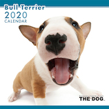 【2020年版・壁掛け】THE DOG ブルテリア 403307