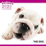 【2020年版・壁掛け】THE DOG ブルドッグ 403308