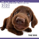 【2020年版・壁掛け】THE DOG フラットコーテッド 403313