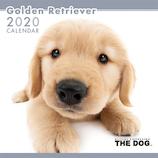 【2020年版・壁掛け】THE DOG ゴールデンレトリーバー 403315