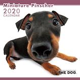 【2020年版・壁掛け】THE DOG ミニチュアピンシャー 403320
