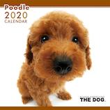 【2020年版・壁掛け】THE DOG プードル 403325