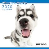【2020年版・壁掛け】THE DOG シベリアンハスキー 403330
