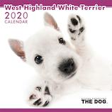 【2020年版・壁掛け】THE DOG ウェスティー 403332