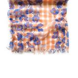 MAISON BLANCHE(メゾンブランシュ) おさんぽストール ベンベルグ 5704001501 ネモフィラ オレンジ│ボディケア 日焼け止めスプレー・クリーム
