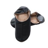 <東急ハンズ> シックな色合いと上品な肌触りのルームシューズ サラサドットコム bc2 ルームシューズ マエストロ ブラック XL画像