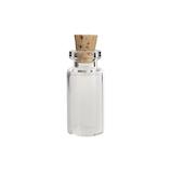 カミオカ コルク瓶 MC‐2 1.5×3.3cm│保存容器 ガラス保存容器