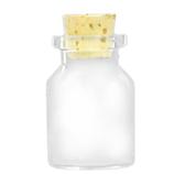 カミオカ コルク瓶 MC−3 2.3×3.5cm│保存容器 ガラス保存容器