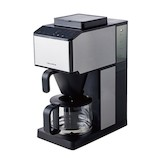 レコルト コーン式全自動コーヒーメーカー シルバー│キッチン家電 コーヒーメーカー