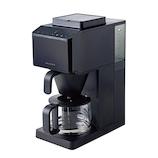 レコルト(recolte) コーン式全自動コーヒーメーカー RCD-1(BK) ブラック│キッチン家電 コーヒーメーカー