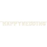 シエル ペーパーガーランド HAPPY WEDDING│ペーパーアイテム・ウェディングアイテム デコレーションパーツ