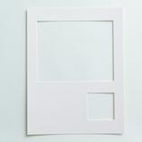 シエル マット マット2つ窓 Lサイズ ピュアホワイト