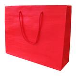 山喜包装 漆紙手提袋 大 赤