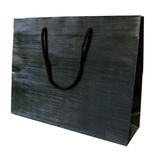 山喜包装 漆紙手提袋 大 黒
