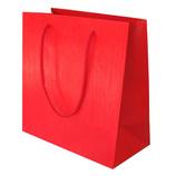 山喜包装 漆紙手提袋 中 赤