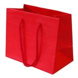 山喜包装 漆紙手提袋 ミニ 赤
