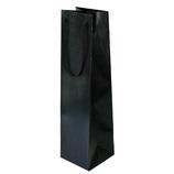 山喜包装 漆紙ワインバッグ 黒