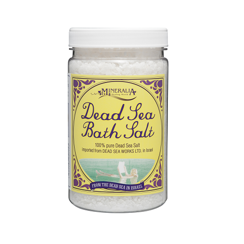 ミネラリア デッドシーバスソルト 死海の塩 1.2kg