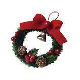【クリスマス】 インディゴ オーナメント リース XR777 レッド