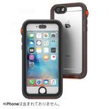 【iPhone6/6s】 catalyst カタリスト 防水iPhoneケース ブラックオレンジ