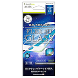【iPhone8/7】 simplism [FLEX 3D] ブルーライト低減 複合フレームガラス ホワイト