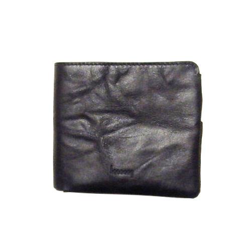 hmny カジュアル財布 W−012 ブラック