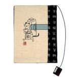 ドン・ヒラノ ブックカバー 文庫版 30168 江戸の貸本屋│ブックカバー・製本用品 ブックカバー