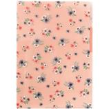 LABCLIP(ラボクリップ) ブルーム 3ポケットクリアファイル A4 ピンク