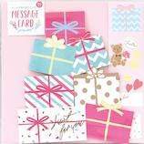 LABCLIP(ラボクリップ) メッセージカード プレゼント ピンク