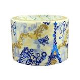 シール堂 マスキングテープ トレペデコテープ 27mm ks−dt−40006 The Eiffel Tower