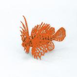 ウラノ 3Dペーパーパズル ミノカサゴ オレンジ