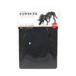 ペーパーパズル トリケラトプス ブラック
