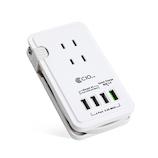 株式会社CIO 電源タップ USB4ポート ACプラグ3口 KJ-C03│配線用品・電気材料 電源タップ・延長コード