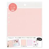 LABCLIP(ラボクリップ) フェイバリットログズ カラー台紙 FLRF01 ピンク