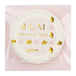 BGM マスキングテープ BM−LSG001 ハート ピンク