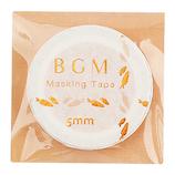 BGM マスキングテープ BM−LSG007 ニンジン