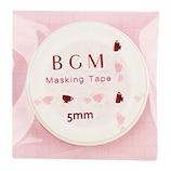 BGM マスキングテープ BM−LSG011 カップ レッド