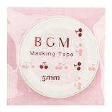 BGM マスキングテープ BM−LSG012 チェリー