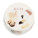 BGM マスキングテープ BM−LA040 タピオカ