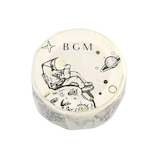 BGM マスキングテープ BM−LGCA013 月の冒険