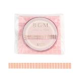 ビージーエム(BGM) マスキングテープ 箔押し 5mm BM-LSG069 ピンクチェック│シール マスキングテープ