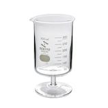セキヤ ビーカーワイングラス 300mL 72-800-150│実験用品 ビーカー・フラスコ