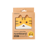 cheero Power Plus 6000mAh nyanboard version チャトラ CHE-073-CH