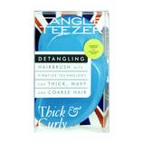 タングルティーザー(TANGLE TEEZER) ザ・オリジナル ハード&ボリューム アズールブルー│ヘアブラシ・散髪用品 ヘアブラシ