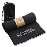 コルコピ(CORCOPI) ヨガタオル ブラック/グレー