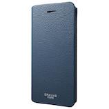 【iPhone8Plus/7Plus】グラマス COLORS EURO Passione 2 Leather Case ネイビー