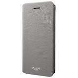 【iPhone8Plus/7Plus】グラマス COLORS EURO Passione 2 Leather Case グレー