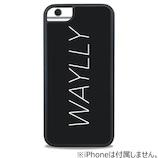 【iPhone6/7/8】 ケースオクロック ウェイリー(WAYLLY) ロゴ・ホワイト WL-67-LG-WH
