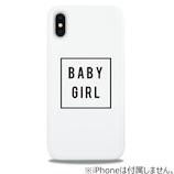 【iPhoneX】 ケースオクロック TAERI×ウェイリー(WAYLLY) BABY GIRL TAERI-BABYG-WLX