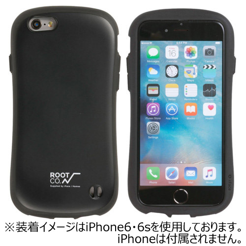【iPhone7】ROOT×iFace Gravity Shock Resist Case ブラック